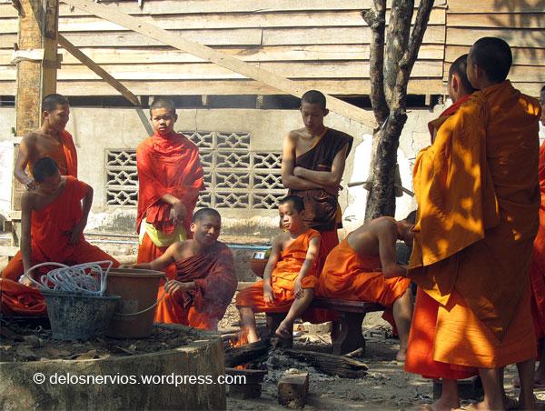 Escuela de monjes en Luang Prabang